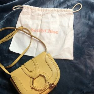 See By Chloé Yellow Crossbody Bag